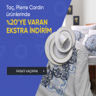 [hepsiburada] Taç ve Pierre Cardin Marka Ev Tekstil Ürünlerinde İndirimli Fiyatlara Ek %20 İNDİRİM DAHA