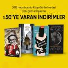 [hepsiburada] 2018 Kitap Günlerine Özel Yeni Çıkan Kitaplarda %50'ye VARAN İNDİRİMLER