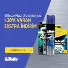 [hepsiburada] Gilette Markalı Seçili Ürünlerde İndirimli Fiyatlara Ek %30 İNDİRİM FIRSATI!