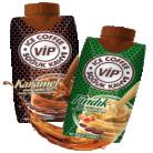 [BİM] Fındık / Karamel Aromalı Sütlü Soğuk Kahve VİP 330 ml - 2.45 TL