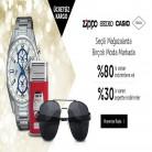 [n11] Zippo, Seiko, Casio ve Fossil Mağazalarında Saat & Gözlük & Aksesuar Ürünlerinde İndirimli Fiyatlara Ek Sepette %30 İNDİRİM DAHA - KARGO ÜCRETSİZ!