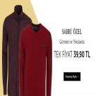 [n11] Sabri Özel Marka Triko ve Gömleklerde Sabit/Tek Fiyat 39,90TL - ÜCRETSİZ KARGO !