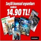 [mediamarkt] Seçili PS3, PS2 ve Wii Konsol Oyunları 14,90TL