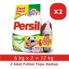 [hepsiburada] Persil Toz Çamaşır Deterjanı Gül Kokulu 12 kg + Futbol Topu HEDİYELİ 49,90TL!