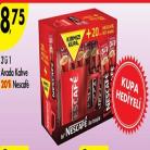[A101] 20'li Nescafe 3'ü 1 Arada Bardak Hediye'li