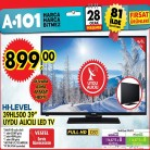 [A101] Hi-Level 39HL500 39 Uydu Alicili  Led TV  Kampanyasi