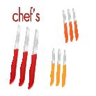 [BIM] 3'lü Tırtıklı Solingen Meyve Bıçağı Chef's 9.50TL - 19 Ekim 2018