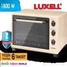 [BIM] Luxell Nostaljik Turbo Fırın 40 lt 199.00TL - 03 Mayıs 2019