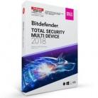 Bitdefender Total Security Multi Device 2018 – 5 PC | 1 yıl  (MAC, Windows & Android)