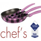 Chef's 3'lü Tava Seti