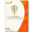 CorelDRAW Home & Student Suite X7 ML 3PC