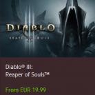 Diablo III ve Reaper of Souls %50 İndirimli Toplam 40€