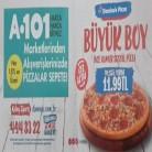 [A101] 15TL Alışverişe Dominos Büyük Boy Pizza 11,99TL