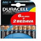 [GittiGidiyor] Duracell Turbo Max AAA (6+2) 8'li Pil 19TL - 14.05.2019