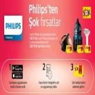[mediamarkt] Seçili Philips Ürün Alışverişlerinizde 250TL DEĞERİNDE Şok Kart Hediye!