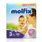 Molfix 7/24 Dev Eko 3 Numara Midi 90`lı