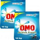 [N11] Omo Active Fresh 10 kg 2'li Paket Beyazlar için Toz Çamaşır Deterjanı 107TL - 23.07.2019