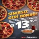 Pizza Hut Sınırsız Pizza Kampanyası
